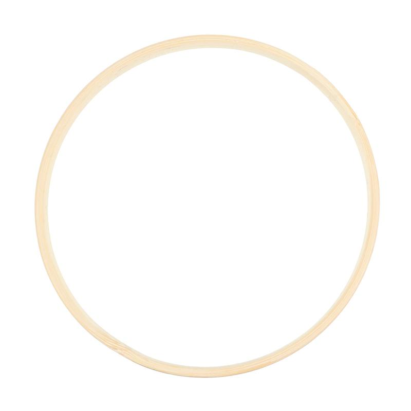 Embroidery Hoop Tool Bamboo Circle Round DIY Art Craft Cross Stitch Chinese Traditional Sewing Manual Tool