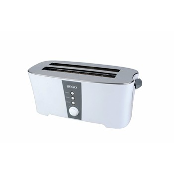 Sogo Toaster Deluxe 4 Slices with 3 Functions, 7 Niv Temperature control's, tray Recogemigas Removable, 1350W