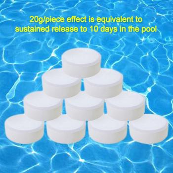 Wielofunkcyjne tabletki chlorowe basen dezynfekcja wanny ładne tanie i dobre opinie