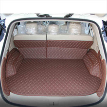 Lsrtw2017 Leather Car Trunk Mat Cargo Liner for Nissan Murano 2009 2010 2011 2012 2013 2014 2015 2016 2017 2018 2019 2020