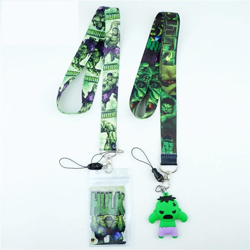 Hulk Neck Straps Lanyards For Keys ID Card Gym Mobile Phone Strap USB Badge Holder Rope Pendant Key Chain Gift