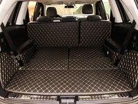 Bom! Esteiras tronco do carro especial para mercedes benz gl 450x164 7 assentos 2011-2006 tapetes de inicialização durável forro de carga esteira para gl450 2009