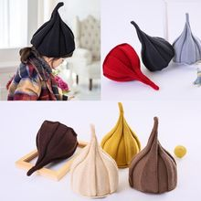 Windmill-Cap Pumpkin-Hat Ear-Protection Baby Knitted Korean Winter Children's And Autumn