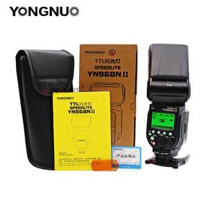 Image 5 - YONGNUO YN968N II flaş Speedlite Canon Nikon DSLR ile uyumlu YN622N YN560 kablosuz TTL Speedlite 1/8000 ile LED ışık