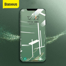 Baseus 3D Screen Protector dla iPhone XR 0.3mm Ultra cienkie szkło ochronne dla iPhone X Xs Max szkło hartowane przednia folia