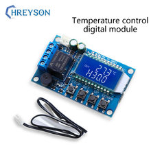 Temperature-Control-Switch Display with Screen ZZ-T01 1pcs Digital Heating And