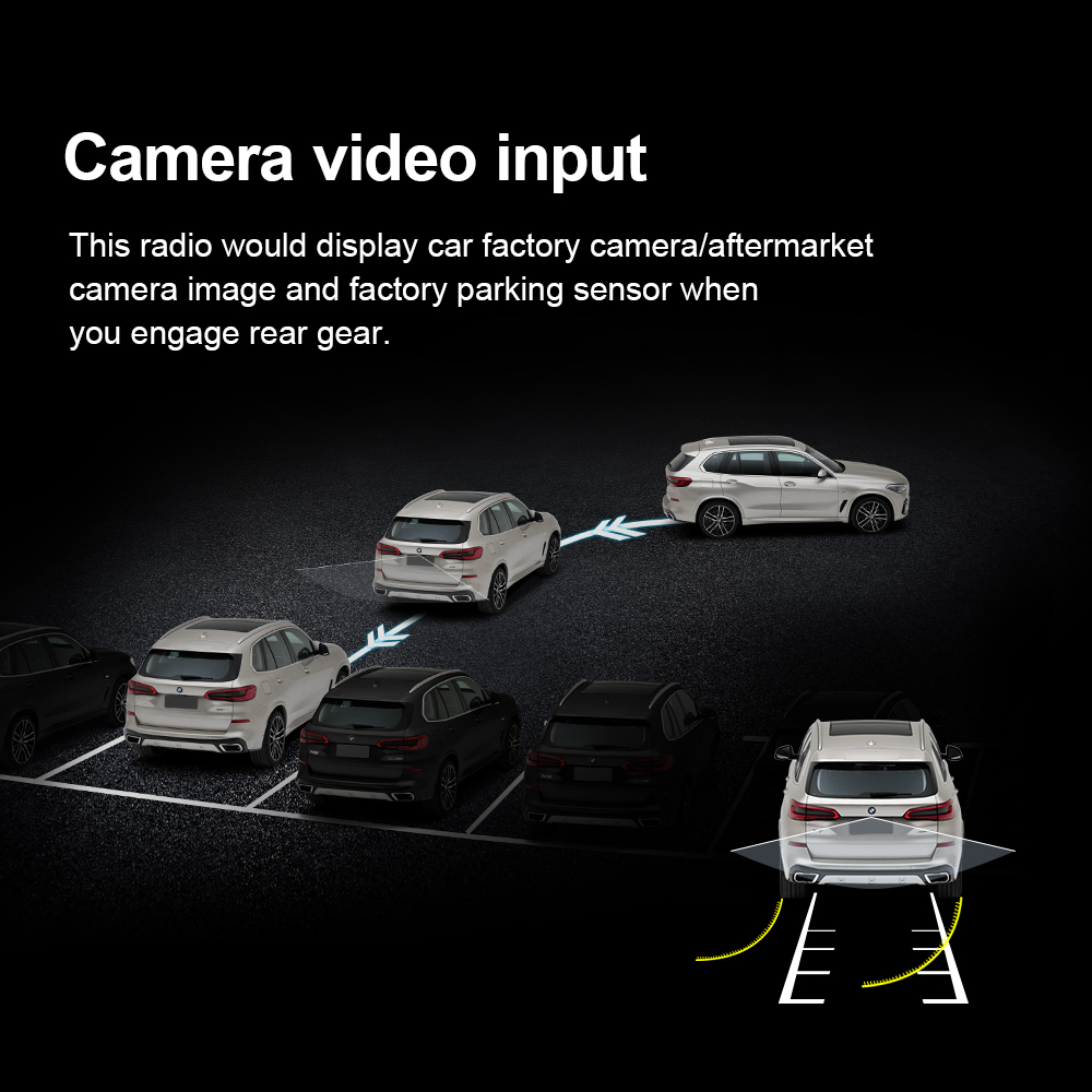 cheapest Idoing AHD Car Rear View Camera Universal Backup Parking Camera Night Vision Waterproof HD Color Image For car dvd radio player