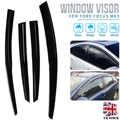 4 Uds parasol de la ventana del coche para Ford Focus mk3 2012-2018 parasol Deflector de la ventana Auto
