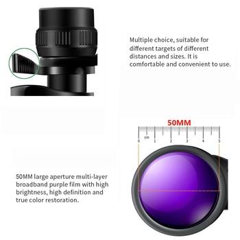 Borwolf 10-30X50 High Magnification HD Professional Zoom powerful Binoculars Light night vision for hunting telescope monocular 5