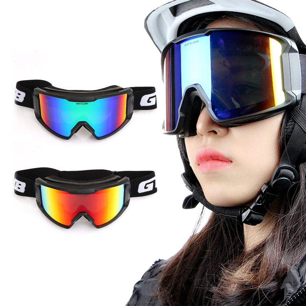Gub S8000 Men And Women Ski Goggles Windproof Glasses Sandproof Dustproof Splash-Proof Protective Glasses Safety Goggles