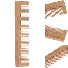 Brosse de Massage en bois de bambou, brosse à cheveux, soins et beauté SPA, vente en gros, 1 pièces