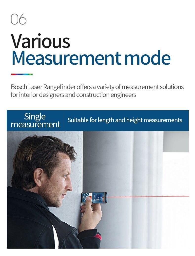 various measurement mode