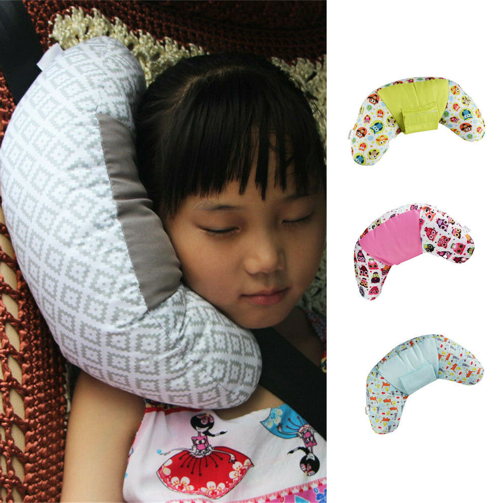 Baby Pillows Baby Kid Head Neck Support Pillows Car Seat Belt Safety Headrest Pillow Pad Protector