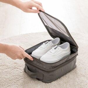 Женская водонепроницаемая дорожная сумка для хранения обуви, милая сумка-мессенджер на молнии, нижнее белье, сумка-Органайзер на плечо, акс...