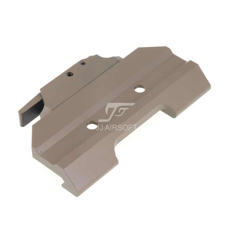 JJ Airsoft AC12033 وصلة تثبيت سريعة/QD لنطاق أكغ 4x32/نقطة حمراء (أسود/تان)