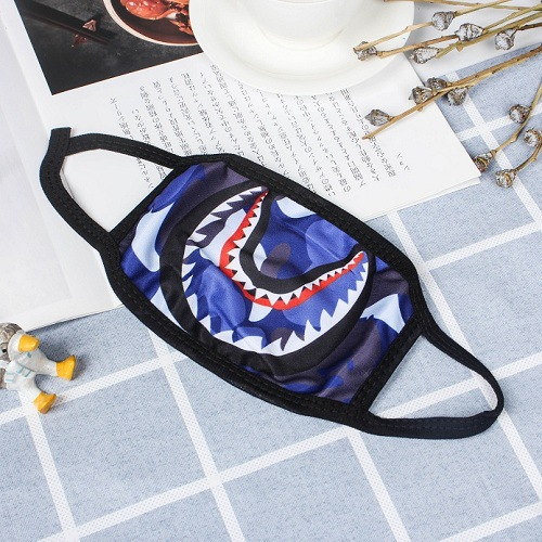 1 pcs Cute Anime Cartoon Mouth Muffle Face cartoon lucky Mask Unisex Style Cycling Cover Anti Dust Cotton Facial Protective Mask