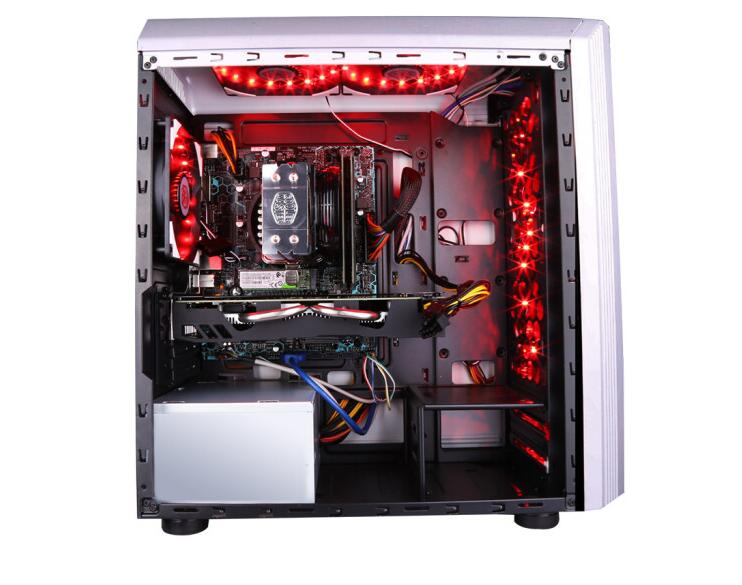 IPASON P81 AMD  R5 2600 Six Core / GTX1650 4G Alone / 8G Memory / Eat Chicken Game Desktop Host / DIY Assembly Host UPC