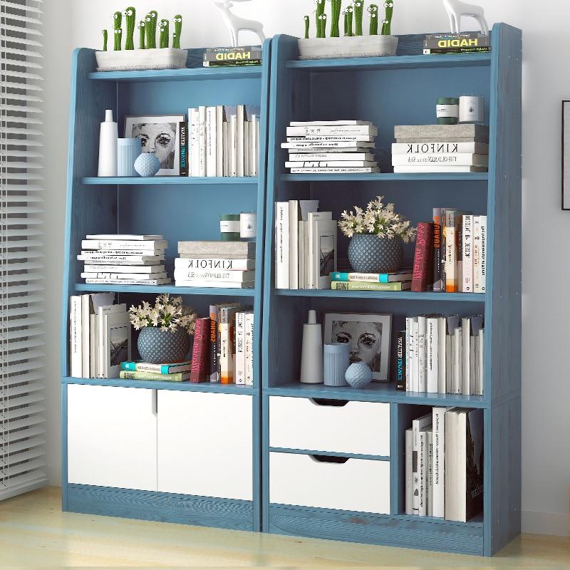 On Behalf Of Simple Bookshelf Bedroom Bookcase Living Room Storage Shelf Creative Province Space Multi-functional Simple Bookcas