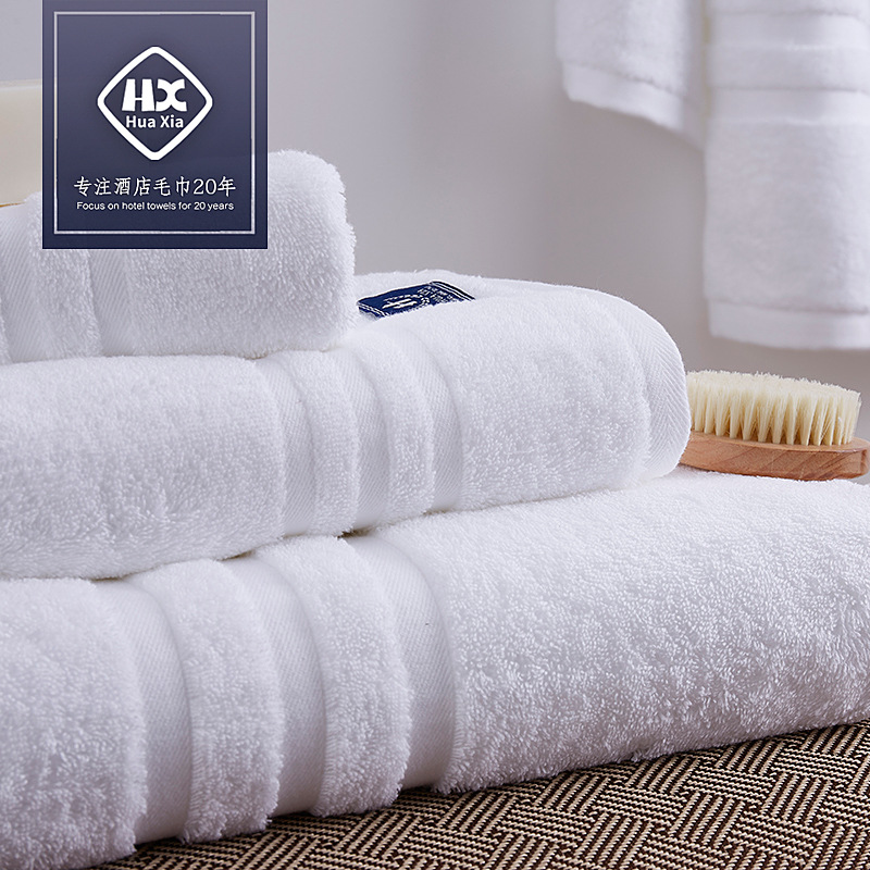 LeRadore doux étoile hôtel Motel serviette 3 pièces 100% coton visage Portable blanc serviette de bain hôtel gants de toilette petite serviette