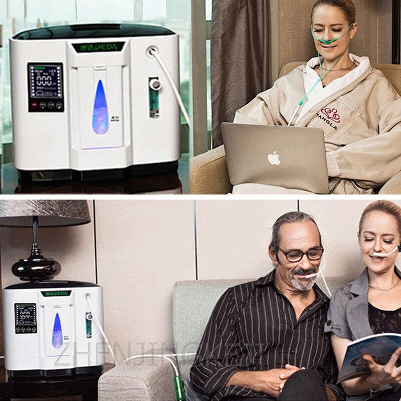 110/220V Portable Ventilator Oxygen Concentrator Generator Oxygen Generating Machine Medical Supplement Tools  English Version