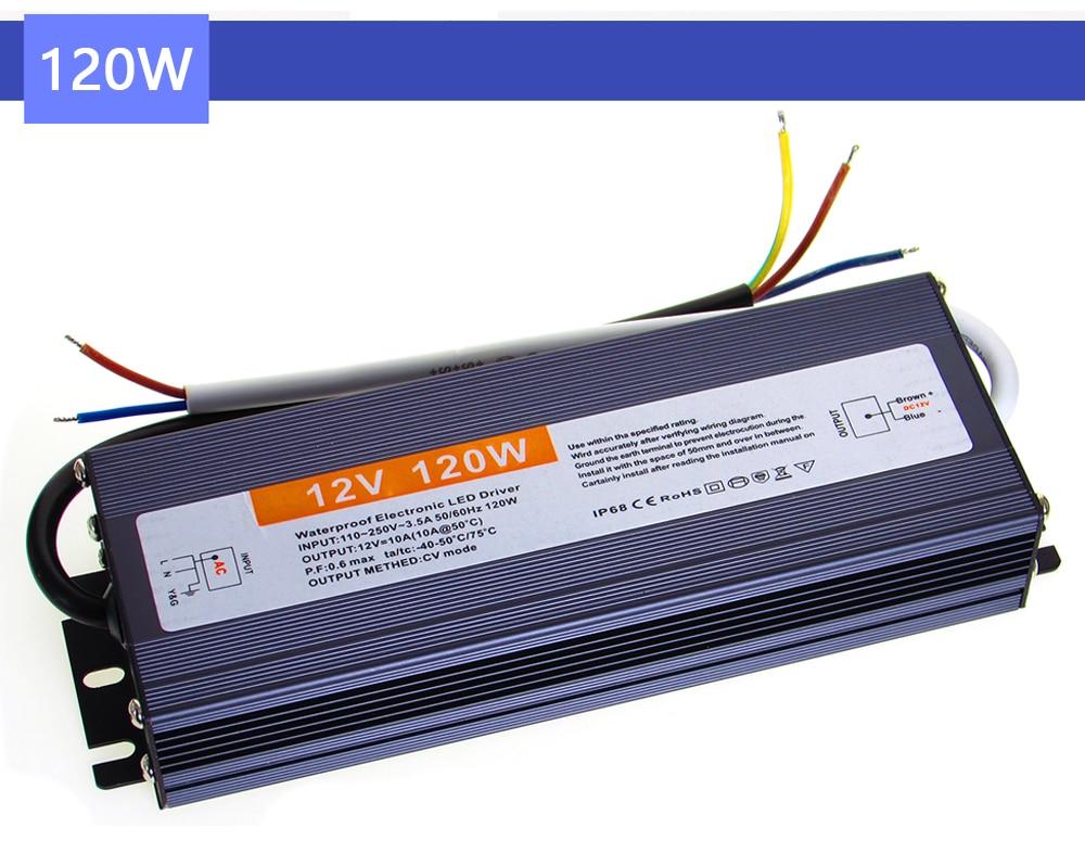 Купить трансформатор 220 в до 12 в 24 источник питания вольт ip67 ip68