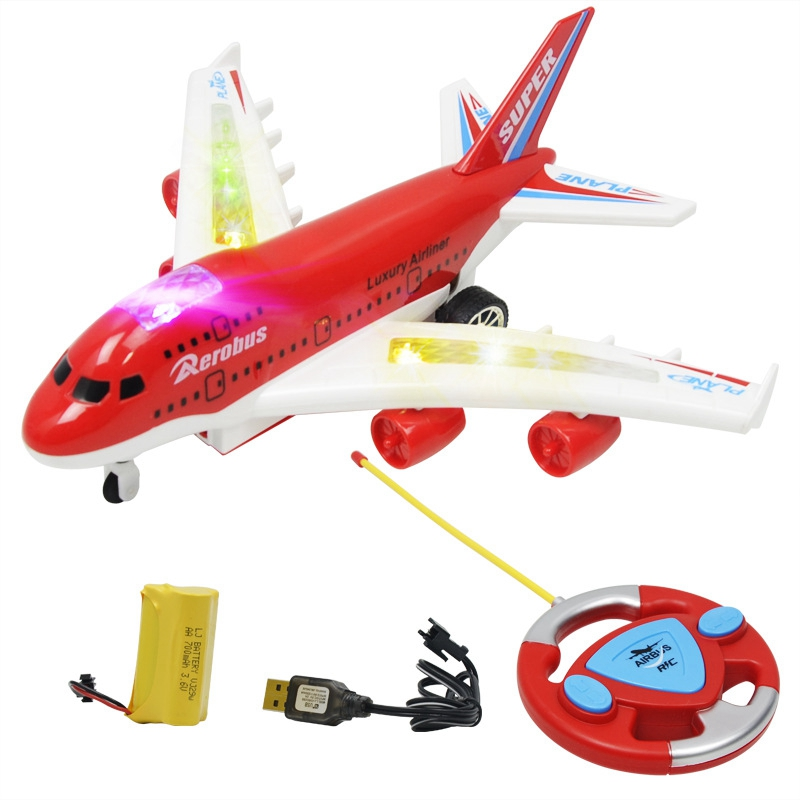 Remote Control Aircraft RC Drone 4 Way RC Airplane Model Fixed Wing Plane For Kid Boy Birthday Gift