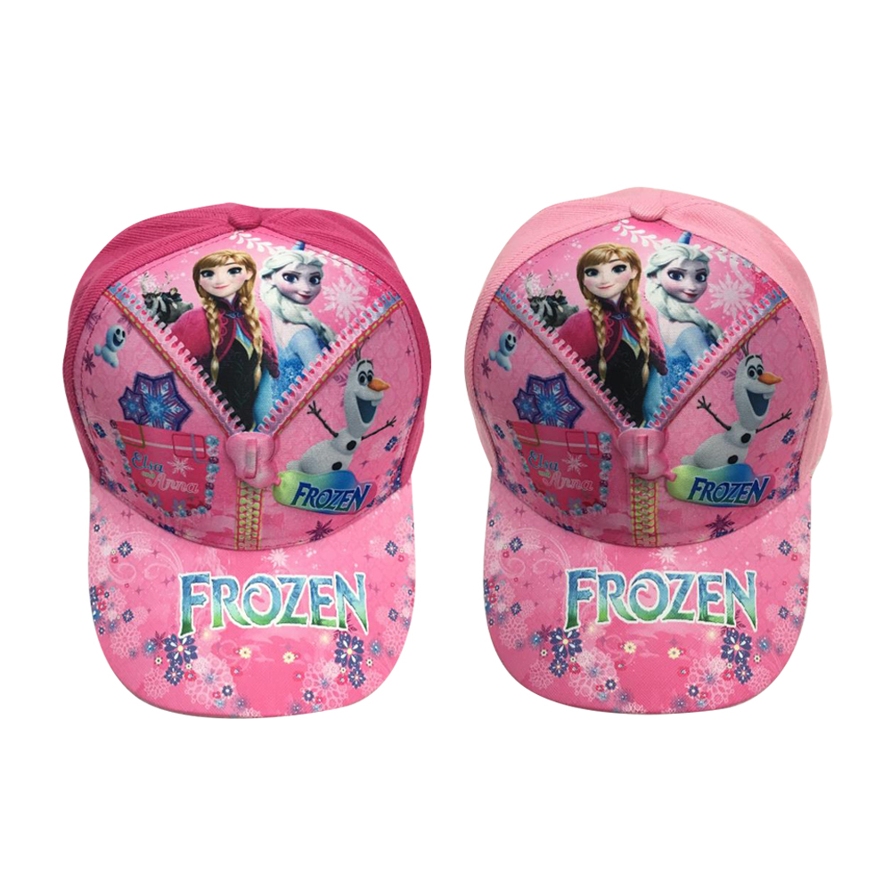 Girls Boys Kids Sun Cartoon Hats Frozen Elsa Anna Baseball Cap Sports Party Gift