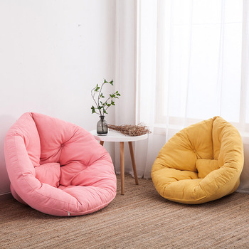 Party Pouf Bean Bag Chair Puff Sofa Bed Gaming couch Ottoman Cama Bedroom Tatami Floor Seat Cushion Pad Kid Camping