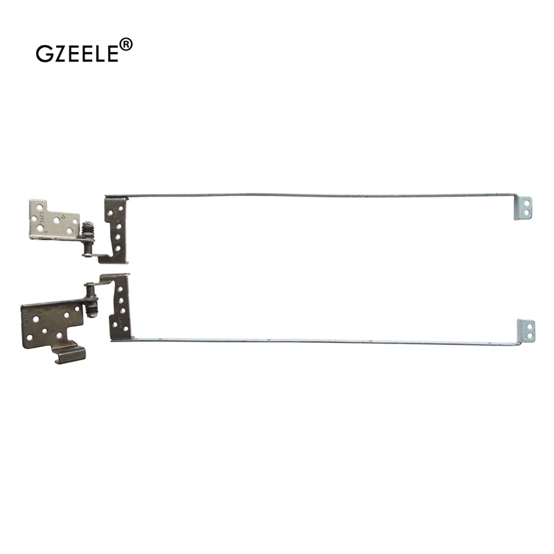 Laptop Accessories New Laptop Lcd Hinges Kit For LENOVO G700 G710 P/N: 13N0-B5M0102 13N0-B5M0202 Left Right LCD Hinges Bracket