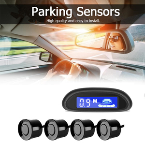 Парктроник со светодиодным индикатором, с 4 датчиками парковки, дисплей с подсветкой парктроник парктроники для авто парктроник 4 датчика парктроники парктроник с камерой партроники на авто датчик парковки|Датчики парковки|   | АлиЭкспресс
