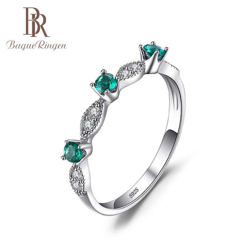 Bague Ringen 925 anillos de plata para mujer Simple geometría anillo de compromiso aniversario temperamento moda regalo fiesta
