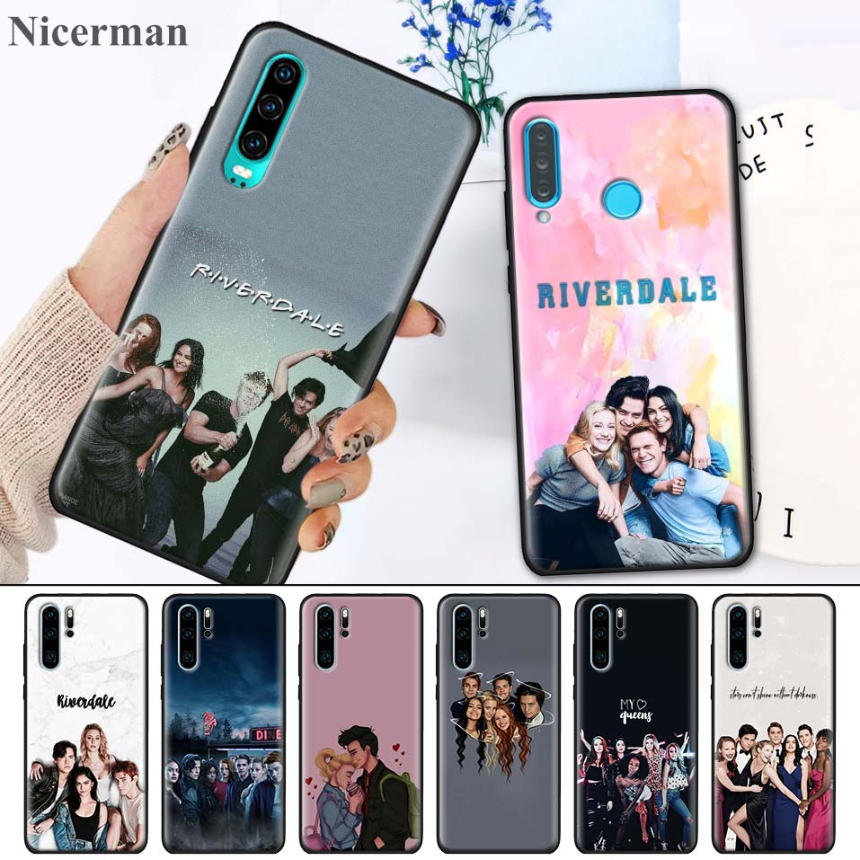 <font><b>Case</b></font> for <font><b>Huawei</b></font> P30 P20 P10 <font><b>Mate</b></font> 30 20 <font><b>10</b></font> <font><b>Lite</b></font> Pro P Smart Z Plus 2019 Nova 5i Pro Cartoon <font><b>Riverdale</b></font> Jughead Jones image