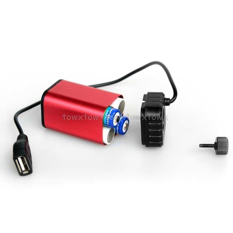 Wodoodporny 5V USB przenośny 4X AA uchwyt ładowarki baterii zestaw etui na powerbank Box O30 19 dropship