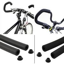 2 pçs ciclo de bicicleta mtb bicicleta estrada suave tubo macio esponja espuma guiador apertos cove 3.5*50cm