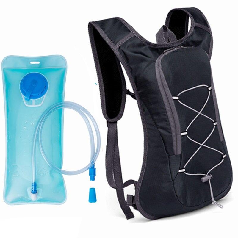 Велосипедная сумка для воды, рюкзак для гидратации, велосипедная Сумка для бега, сумка для водного пузыря, 2 л, светоотражающий рюкзак