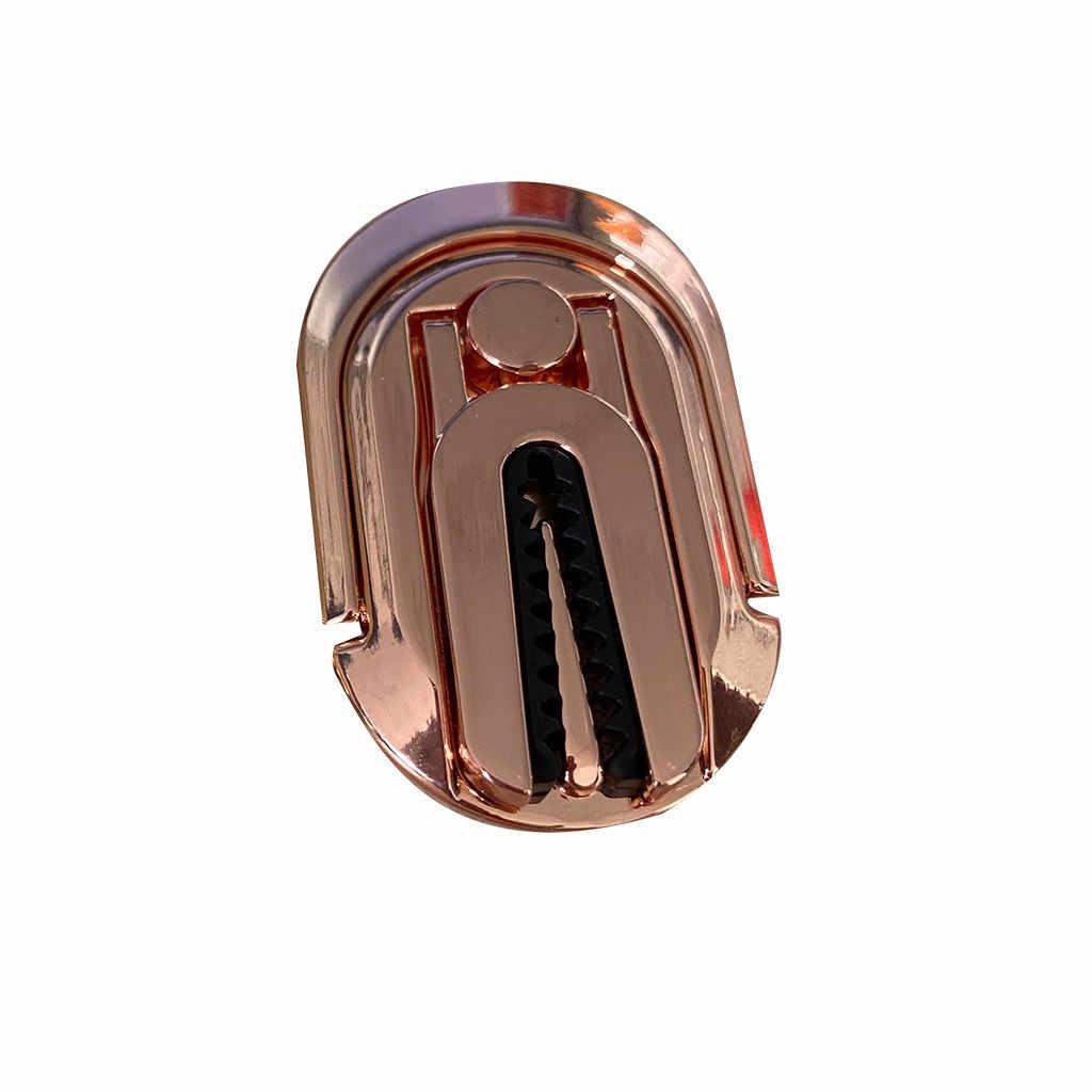 2w1 uchwyt samochodowy na telefon uniwersalny samochód wylot powietrza metalowy uniwersalny uchwyt na telefon uchwyt stojak do telefonu pierścień akcesoria samochodowe