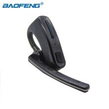 Walkie Talkie Bluetooth Draadloze Headset Oortelefoon Voor Motorola Kenwood Baofeng UV 82 UV5R Ptt Oortelefoon Twee Manier Radio Accessoires