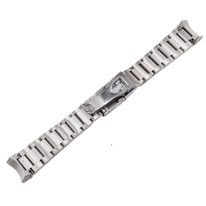 Image 4 - Carlywet 22mm 고품질 316l 스테인레스 스틸 실버 시계 밴드 스트랩 시계 밴드 tudor 블랙 베이