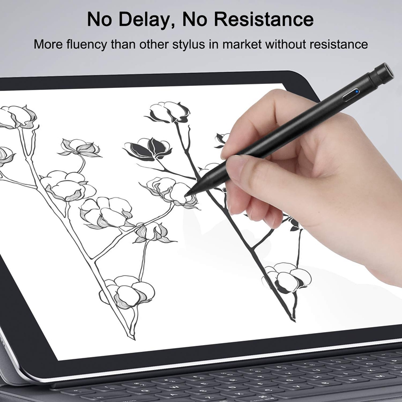 Active Stylus Digital Pen for 2018 2019 iPad  No Delay/NO Resistance Drawing Anti Mistakenly Press Pen for iPad|Tablet Touch Pens| |  - title=