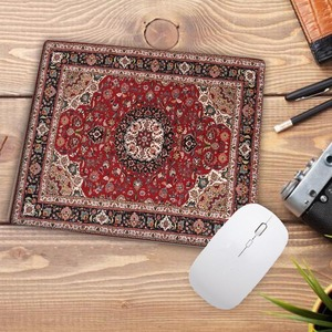 Image 4 - Big Promotion Waterproof Persian carpet rubber non slip laptop gaming Small mouse pad for CSGO dota LOL 220*180*2mm
