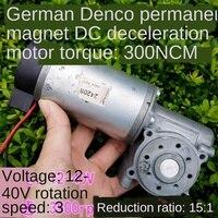 Deutsch einfuhr von permanent magnet verlangsamung motor motor wurm getriebe minderer motor drehmoment 3Nm|DC-Motor|Heimwerkerbedarf -