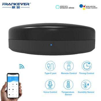 FrankEver IR Universal inteligente WiFi Control remoto de infrarrojos casa IR Blaster Centro de Control Tuya Google asistente Alexa WiFi hogar