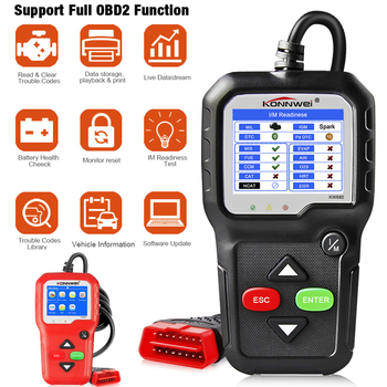 OBD2 Scanner OBD Car Diagnostic Auto Diagnostic Tool KONNWEI KW680 Read Clear Fault Error Codes Russian OBD2 Automotive Scanner launch x431 crp123i obd obd2 coder reader scanner 4 system diagnostic obd 2 auto scanner car diagnostic tool vs crp123x crp123e