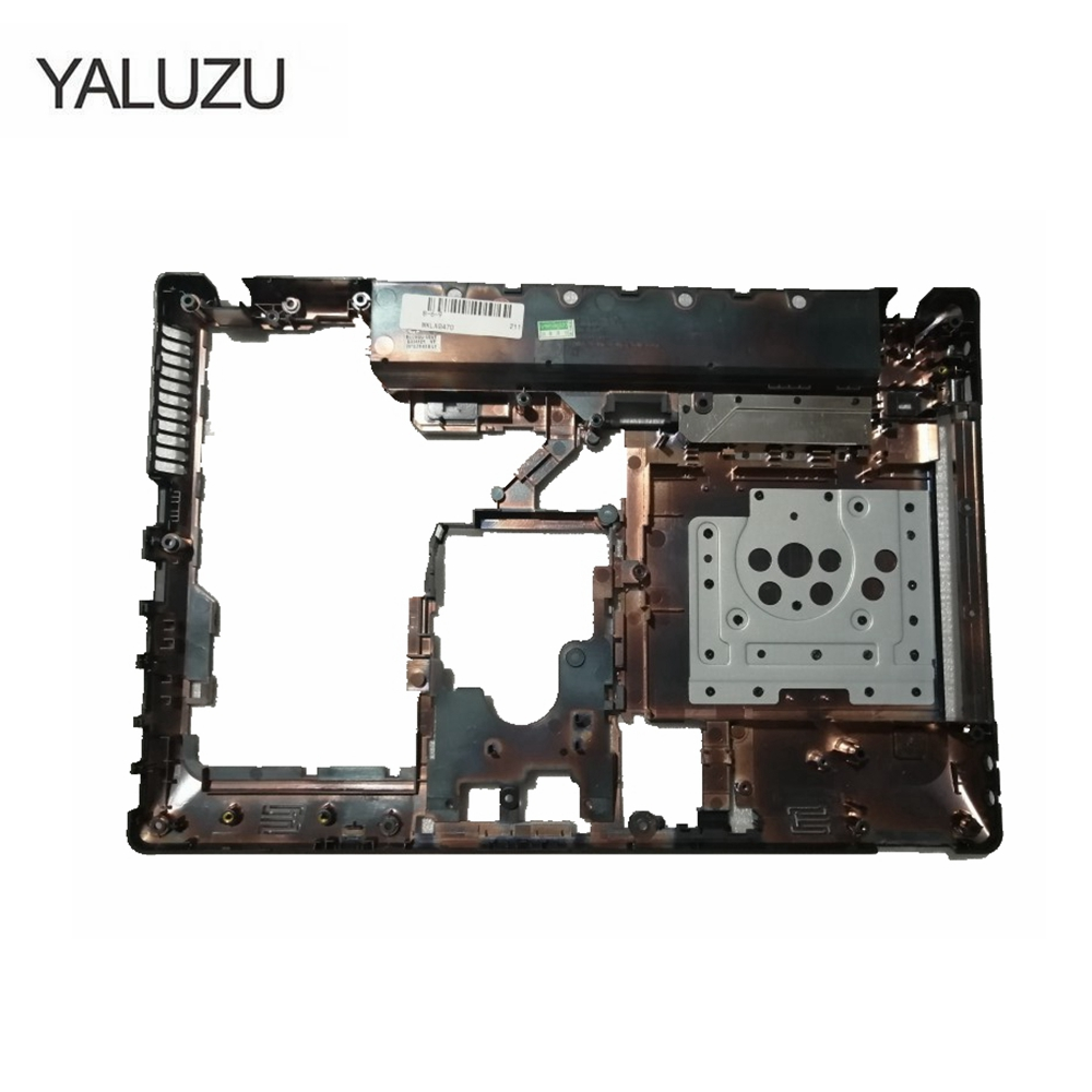 YALUZU laptop Bottom <font><b>case</b></font> cover For <font><b>Lenovo</b></font> Ideapad <font><b>G470</b></font> G475 G475G G470D G475GX G475GL G470AX HDMI Port Parts lower <font><b>case</b></font> image