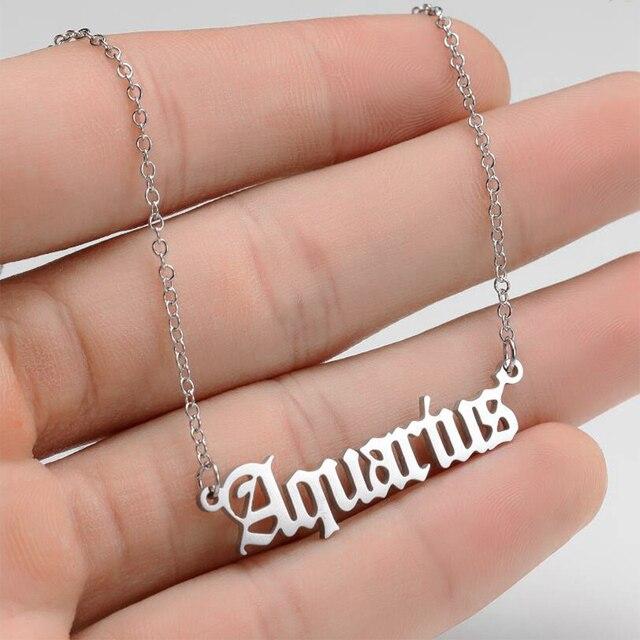Constellation Necklace Scorpio Leo Capricorn Aquarius Necklace Zodiac Libra Taurus Virgo Gemini Sagittarius Pisces Aries Cancer 2