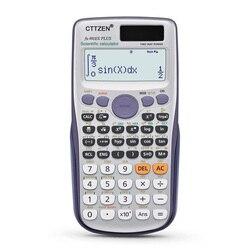 Scientific Calculator 417 Functions Solar & button battery Power Calculadora Cientifica Student Exam Calculator FX-991es Plus