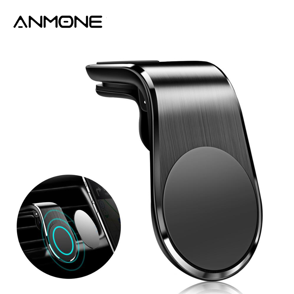 ANMONE Phone Holder Magnetic Car Holder Mount Stand Car Air Vent Clip Magnet Mount for iPhone 11 Pro Max Samsung Xiaomi GPS(China)