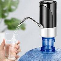 Bomba de agua eléctrica automática con carga USB para el hogar y la Oficina, dispensador de agua potable para beber bebidas