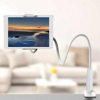 Soporte Universal de cuello de cisne para teléfono móvil, para brazo soporte Flexible, soporte Flexible para cama, escritorio, Clip para teléfono