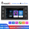 Podofo araba multimedya oynatıcı Android 9.0 2 Din GPS DVD Wifi 7 ''Stereo alıcı odak Galaxy Mondeo Kuga c-max s-max Fusion